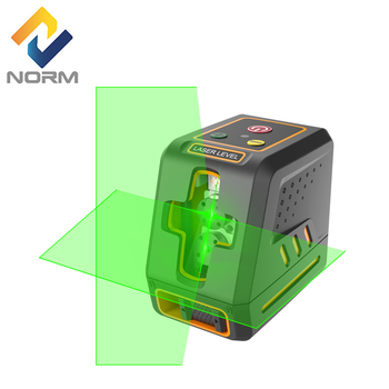 Norm Cross Line laser level self-leveling Green/Red laser Leveler Vertical Horizontal laser level tool with pulse mode firecore mini 2 line red laser level 1v1h horizontal and vertical cross laser line self leveling 3 degrees measuring tool