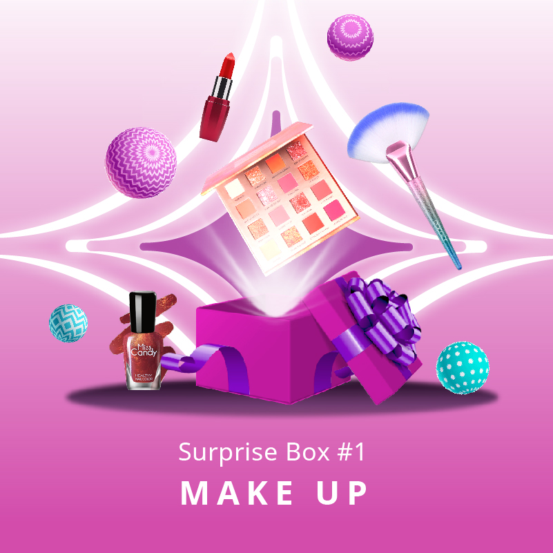 Surprise Box FOCALLURE Makeup