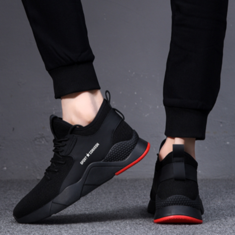 2019 New Style Spring MEN'S SHOES Men Sports Casual Running Trendy Shoes Korean-style Trend Versatile Warm Cotton-padded Shoes W