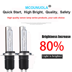 Image 3 - 2PCS NEW OEM 55W H1 H3 H11 H7 9006 9005 H4 9012 Xenon HID Bulb 4300K 4500K 5000K 5500K 6000K 8000K HID Xenon Lamp Xenon Bulb