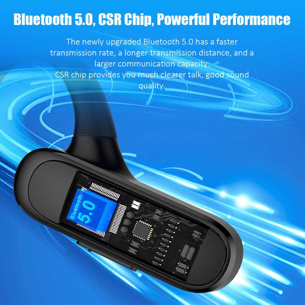 UCOMX Airwings Bluetooth Hoofdtelefoon Open Oor 5.0 Draadloze Koptelefoon welke Mic Sport Bluetooth Headset voor iPhone Samsung Xiaomi