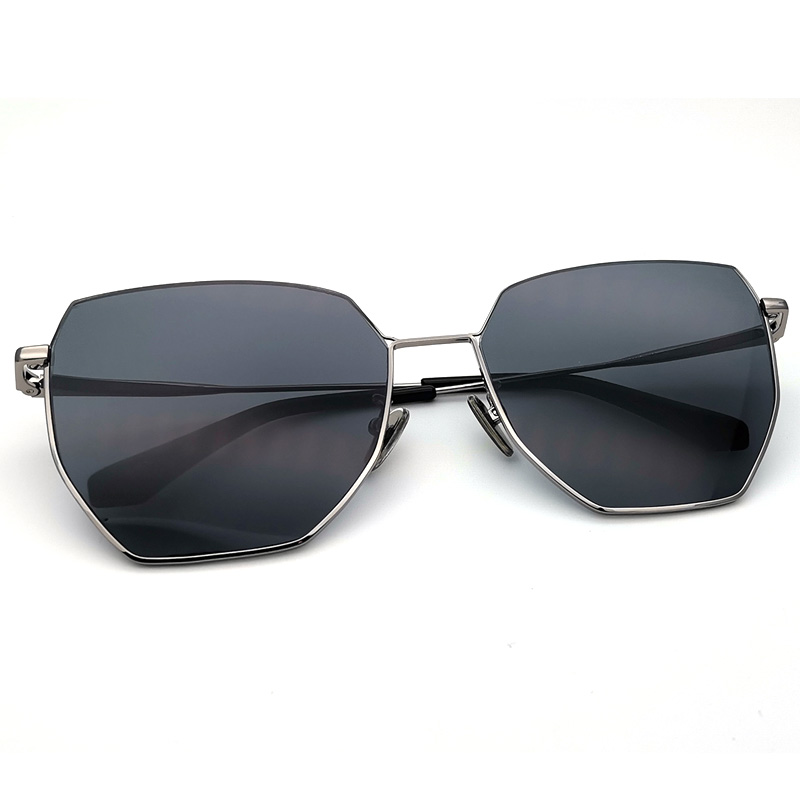 metal black sunglasses 2020 men comfortable with the weight