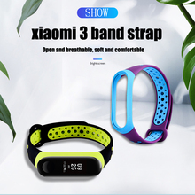 Colorful Bracelet for Xiaomi Mi Band 3 Strap Silicone 4 Wristbands Wrist