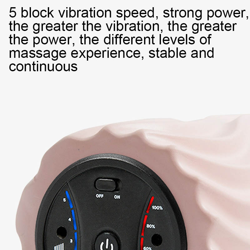 Vibration Massage-Pain Yoga-Column Muscle Electric Relax YA88 Stovepipe Foam-Shaft Relieve-Roller