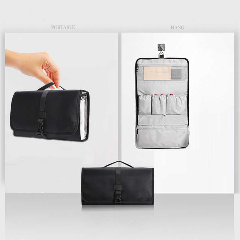 Składane woreczki podróżne torba rollbag kompatybilny Airwrap Styler przenośny powiesić organizator torba dla Dyson akcesoria do stylizacji włosów składane