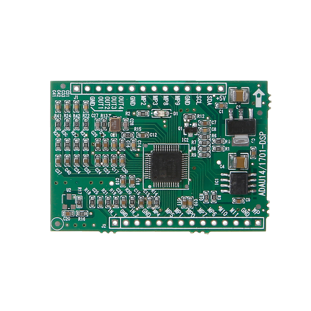 Drop Ship ADAU1401/ADAU1701 <font><b>DSPmini</b></font> Learning Board Update To ADAU1401 Single Chip Audio System image