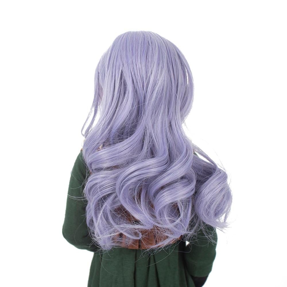 fibra sintética com franja para 1 3 1 4 1 6 bjd bonecas peruca só