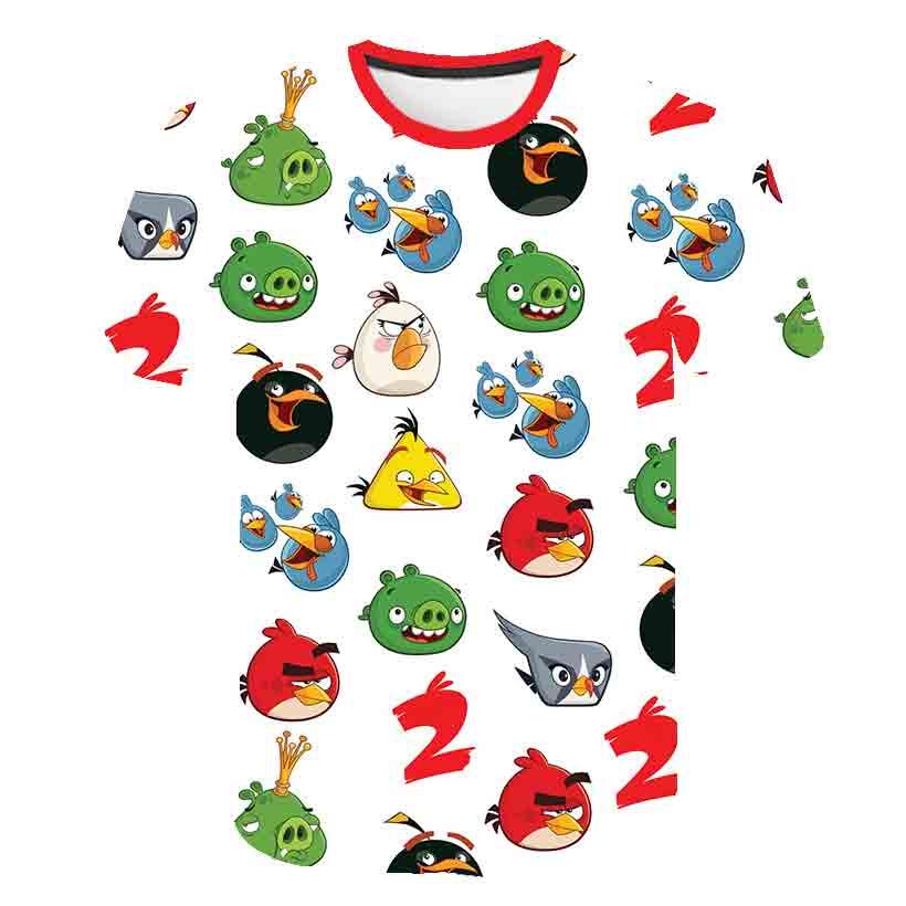 Лето 2020, Новое поступление, Детская футболка с 3D принтом «Птицы 2» футболка для девочек и мальчиков детская одежда модная повседневная одежда на рост 100 160 см|Тройники|   | АлиЭкспресс