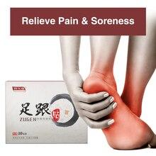 50 шт., медицинский пластырь для пятки, китайская прижигательная терапия, облегчение боли, Calcaneal Spur, пластырь для ног, пластырь для ухода за ногами