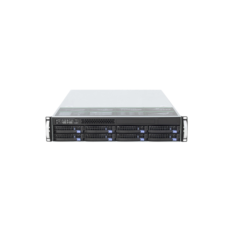 8bays 2U Rack Huge Storage Hot-swap Server Case S26508,supporting Max 12*13