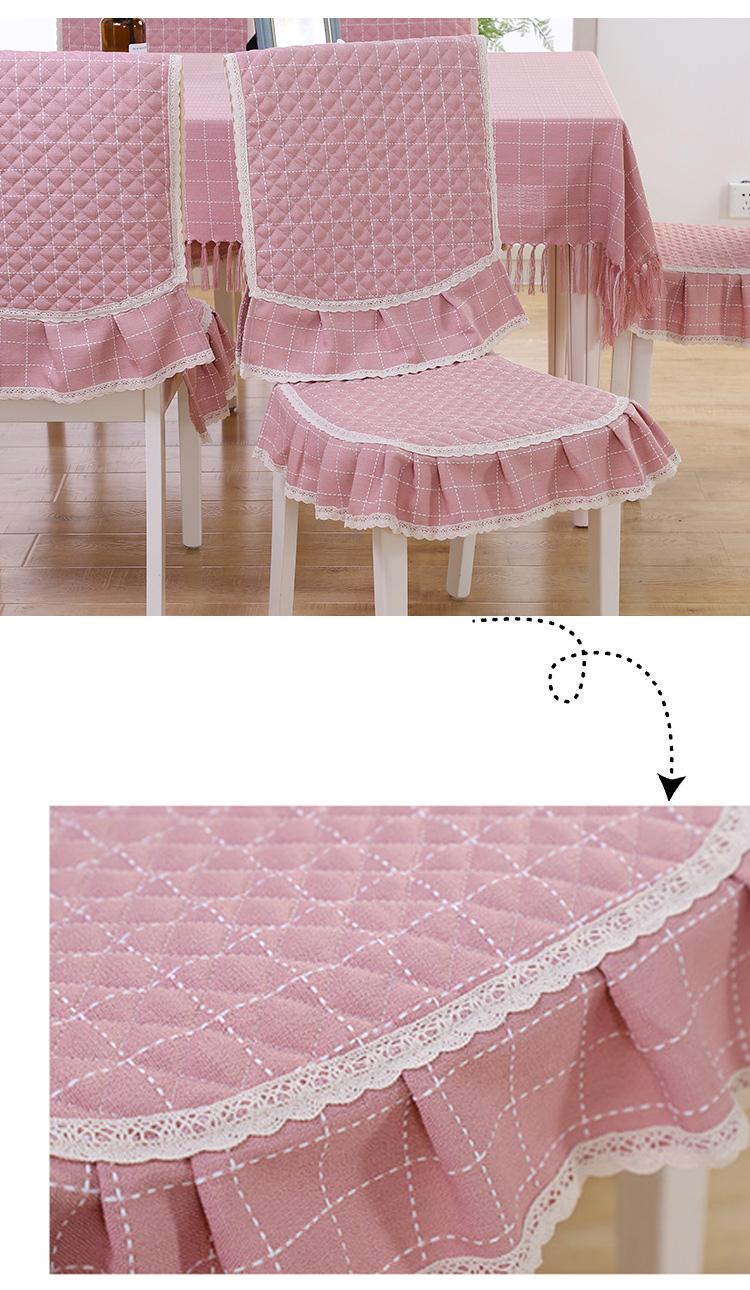 Скатерть прямоугольная из хлопчатобумажной ткани элегантная