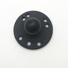 Socle rond 1 pouce support à billes avec modèle de trou ampères pour caméras GPS Smartphone