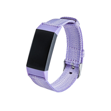 Nylon Strap For Fitbit Charge 3 / Charge 4 Band Wristband Nylon Denim Replacement Watchband For Fitbit Charge 3 / Charge 4 Strap strap for fitbit charge 3 se band replacement accessories silicone wristband watchband bracelet for fitbit charge 3 4 small larg