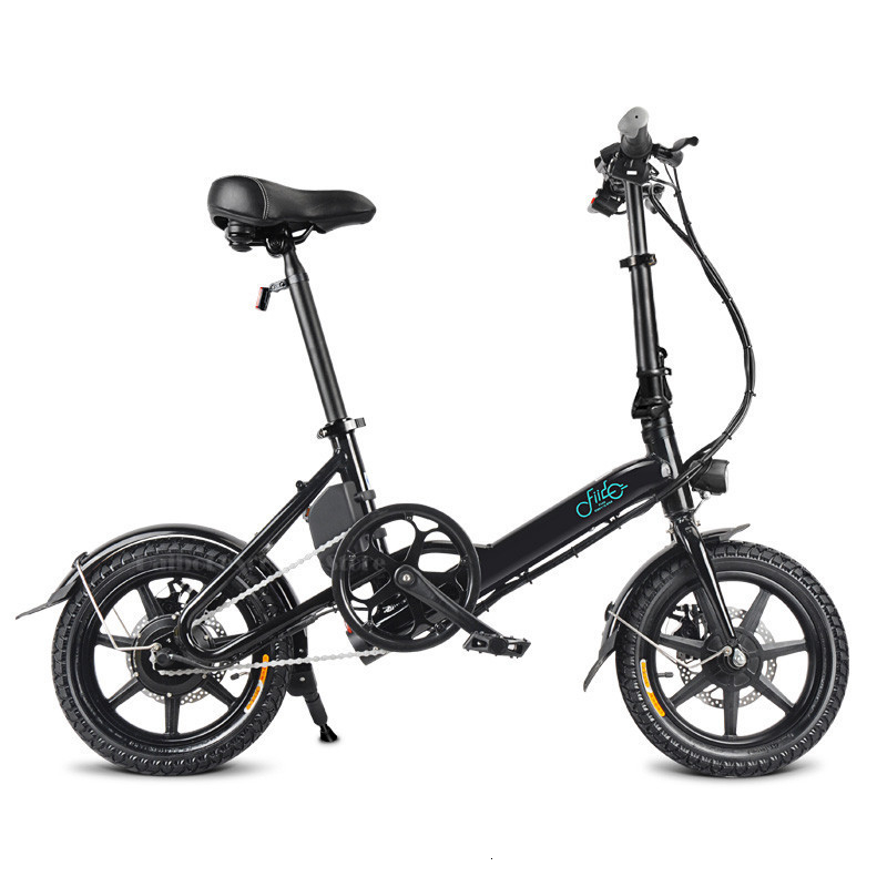 Fiido D3 Mini Electric Bike Two Wheels Electric Scooters 14 Inch 36V 250W Adults Portable Foldable Electric Bicycle With Seat    (3)