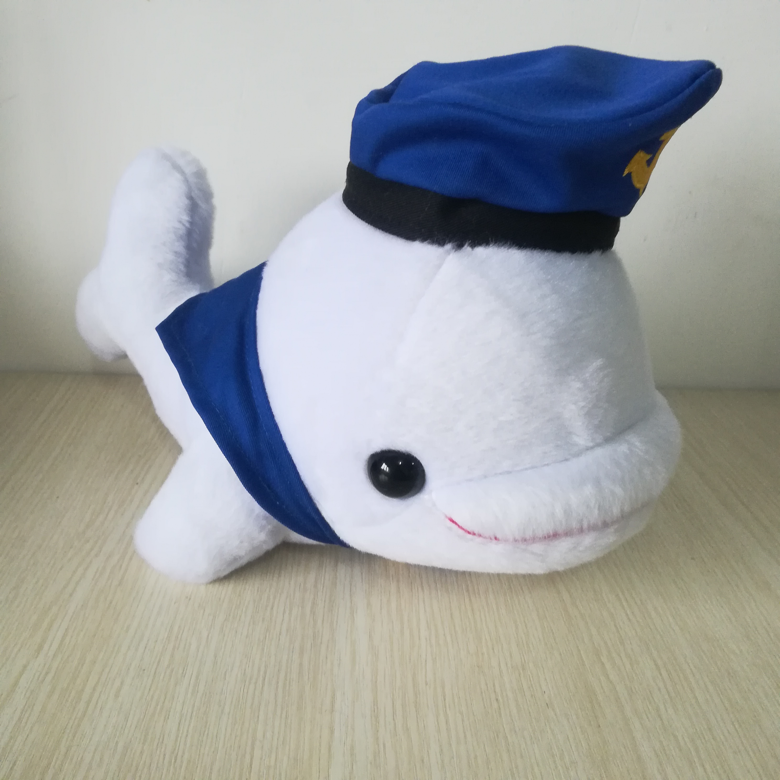 Jouet en peluche baleine design marine environ 30cm dauphin doux poupée cadeau d'anniversaire b0862 - 2