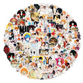 10/50/100Pcs The Promised Neverland Stickers Anime Decal for Refrigerator Fridge Skateboard Laptop Luggage Graffiti Toy