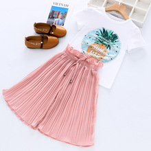 Toddler Girls Clothes Sets Summer Unicorn T-shirt+Pants 2pcs Suits Outfit Girl Tracksuit Set Children Clothing 3 5 6 8 10 Years