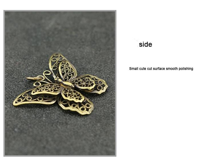 Hollow Butterfly Keychain Pendants (4)