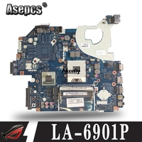 LA 6901P Laptop motherboard for ACER Aspire 5750 5750G 5755 5755G PC Mainboard P5WE0 tesed DDR3