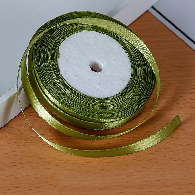 25 ярдов/рулон атласная лента Гро-Гро ленты для свадьбы Рождественская вечеринка украшения «сделай сам» бант ленты для поделок Упаковка для подарков - Цвет: 23