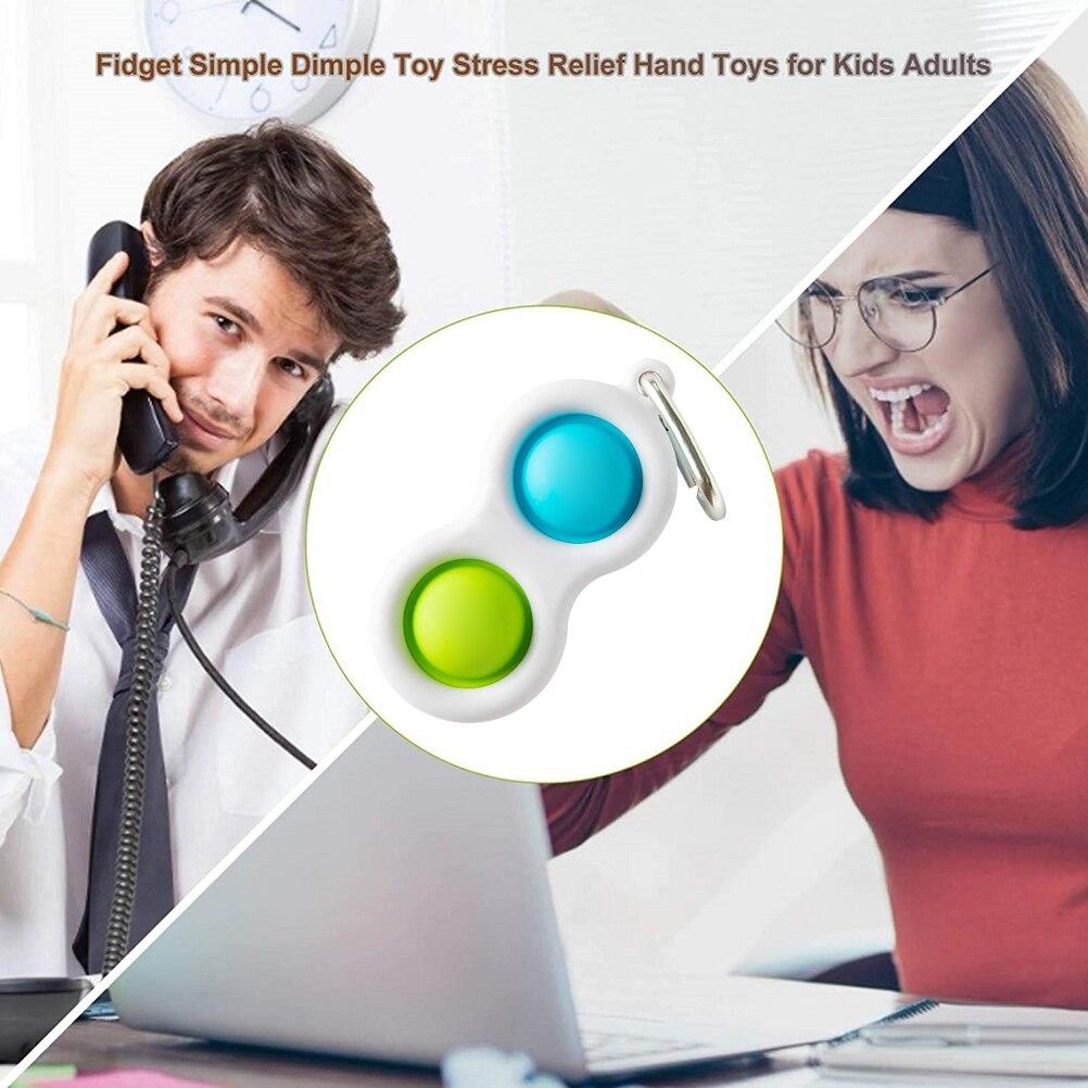 Fidget Simple Dimple Toy Stress Relief Hand Fidget Toys Fat Brain Toys Educational Autism img4