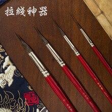 ZYTANG L211 longue ligne écureuil cheveux, Quill, art peinture artistique pinceaux aquarelle pinceau stylo pour dessiner de longues lignes