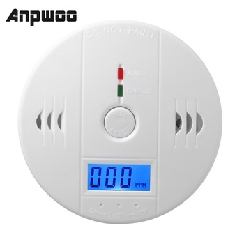 Sensitive Home CO2 Sensor Detector Wireless CO Carbon Monoxide Poisoning Smoke Gas Warning Alarm LCD Indicator - discount item  30% OFF Transmission & Cables