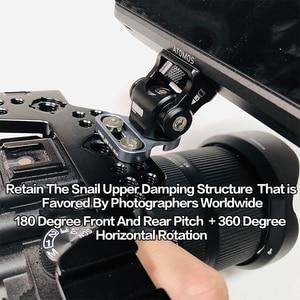 Image 5 - Регулируемая амортизирующая головка M3, гаечный ключ, регулируемая шаровая Головка для камеры DSLR, HDMI, провод держатель, зажим для камеры, Кабель адаптер