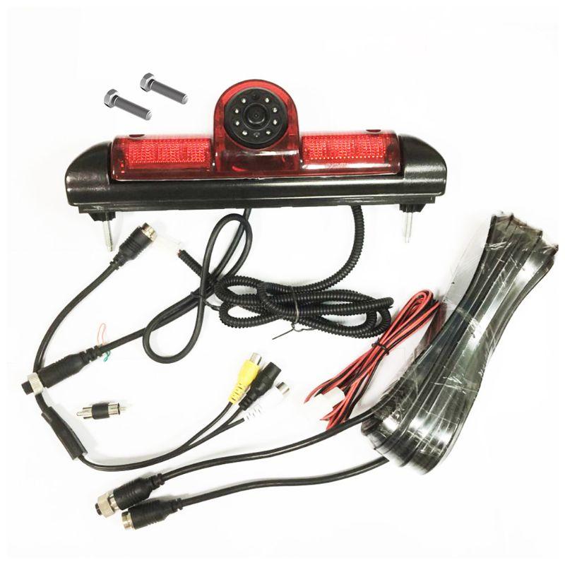 Светодиодный ИК-стоп-светильник, парковочная камера заднего вида и 7-дюймовый монитор для Fiat Ducato для Citroen, реле для Peugeot Boxer