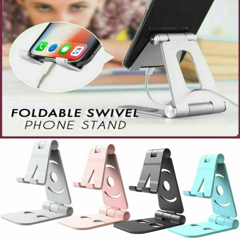 2020 Adjustable Mobile Phone Holder Stand Desk Swivel Foldable Portable For iPhone Mobile Phone Accessories