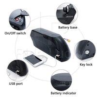 48v 17ah/ 52v 13ah TS Downtube electric bike lithium battery pack for 1500w 2000w ebike kit 18650 LG Cell
