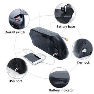 48v 17ah/ 52v 13ah ts downtube bicicleta elétrica bateria de lítio para 1500w 2000w ebike kit 18650 lg célula