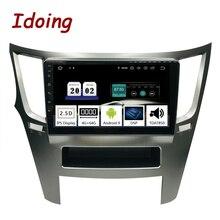 """Ido lecteur multimédia 9 """"PX5 4 go + 64G Octa Core voiture Android9.0 pour Subaru Outback Legacy 2009 2014 Navigation GPS 2.5D IPS"""