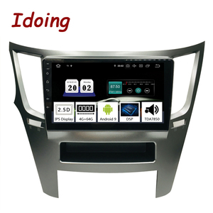 "Image 1 - Idoing 9 ""PX5 4G + 64G Octa Core Auto Android9.0 Radio Multimedia Speler Voor Subaru Outback Legacy 2009 2014 Gps Navigatie 2.5D Ips"