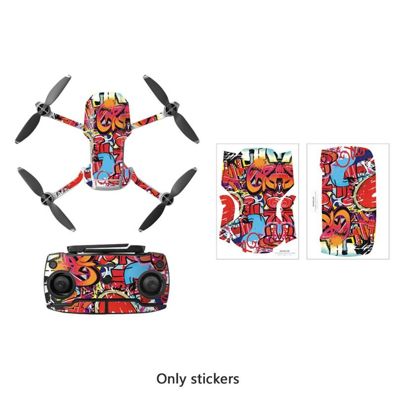 Protective Film Cover PVC Stickers For DJI Mavic Mini Drone Accessories Waterproof Scratch-proof Decals Full Skin Remote Control
