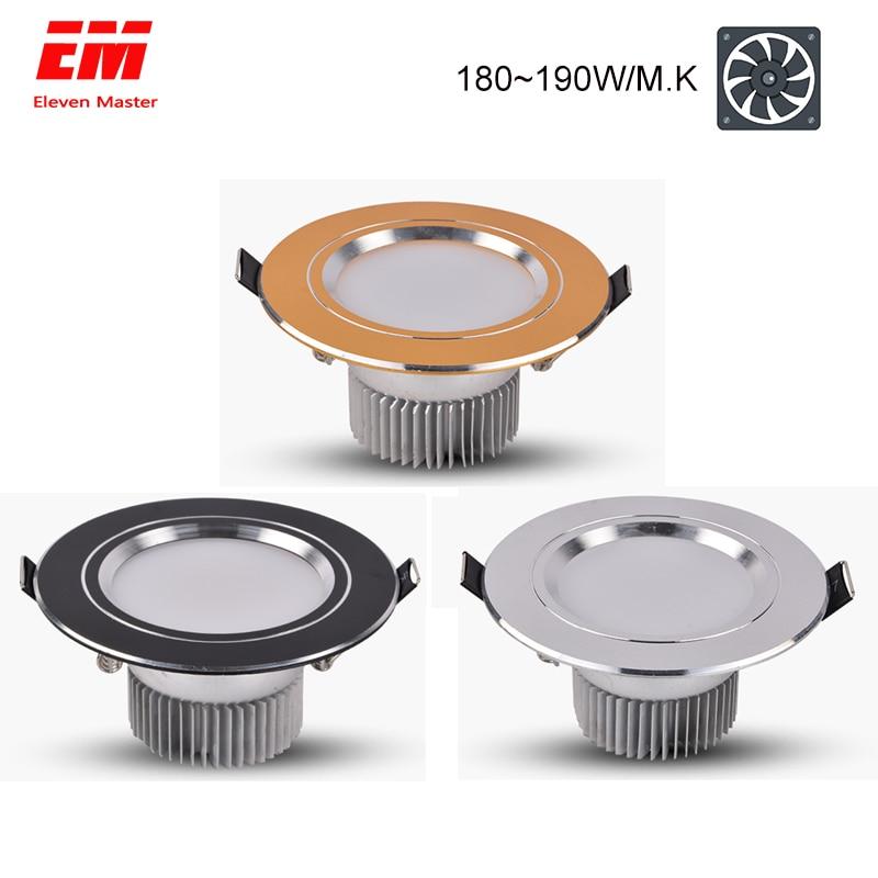 LED Downlight 3W 5W 7W 9W 12W 15W Round Recessed Lamp 220V 230V 240V Led Bulb Bedroom Kitchen Indoor LED Spot Lighting ZTD0006