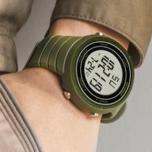SYNOKE Sports Men Watches Army Green Luxury Brand Fashion Military Digital Watch LED Electronic Clock Gift Men relogio masculino