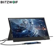BlitzWolf BW-PCM6 17.3 pouces Touchable FHD 1080PPortable ordinateur moniteur jeu écran d'affichage pour téléphone tablette Laptopons Consoles