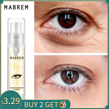 MABREM 22k זהב עין סרום לחות נגד קמטים אנטי גיל היאלורונית חומצה מסיר עיגולים שחורים נגד נפיחות ושקיות