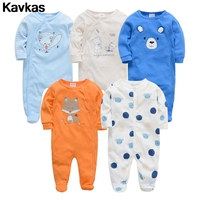 Kavkas 2020 Korean version of the trend 0 12m high quality baby clothing climbing suit boy cute printing climbing suit