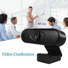 Usb câmera web 1080 p hd webcam câmera de computador webcams embutido som-absorvente microfone 1920*1080 resolução dinâmica
