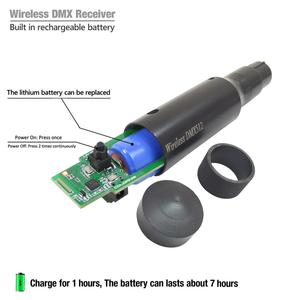 Image 4 - NEW DMX Wireless Transmitter Receiver LED controller Laser Light Controller very convenience for moving stage