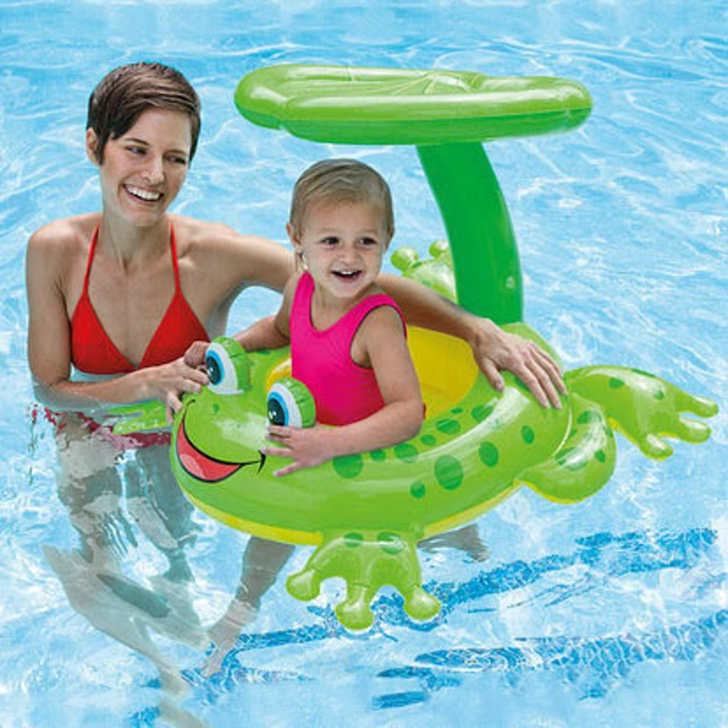 Inflatable Animal Swam Inflatable Kid Toy Ride-on Outdoor Children Float Swan Ring Summer Holiday Water Fun Pool Toys