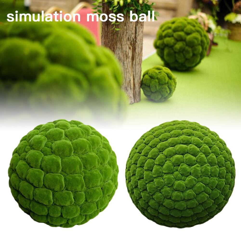 Artificial Moss Balls Simulation Plant Simulation Plant DIY Decoration For Window Home Office Plant Wall Decor Decoration