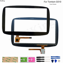 GPS Touch Screen Panel Glass For Tomtom GO 510 GO510 Touch Screen GPS Repair Replacement Part Digitizer Sensor Tools Adhesive