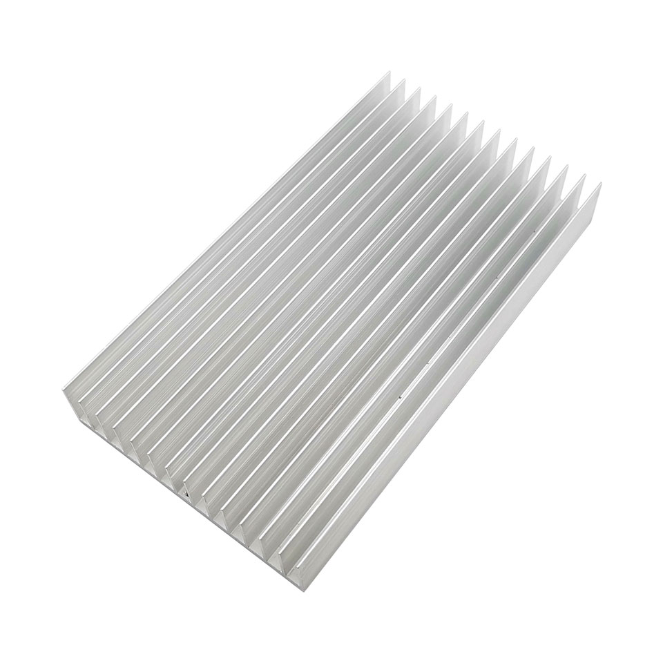 220x120x28mm Big Heatsink Aluminum Cooling Board For LED Light Radiator High Thermal Conductivity Electronics Heatsinks Board