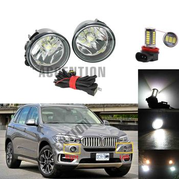 Led Fog Lamp For BMW X5 F15 2014 2015 2016 2017 2018 Car-Styling Front LED Fog Light Fog Lamp With LED Bulbs image