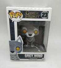 POP Game of Thrones Nymeria JON SNOW ROBB Vinyl Action Figures Toys Gifts game of thrones jon snow character model toy limited collection doll vinyl action figures collectible