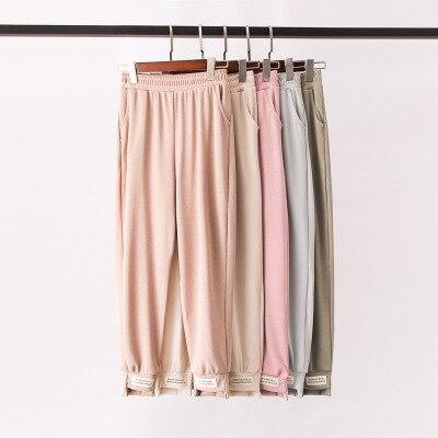 2019 NEW Autumn Spring Women Pants Casual High Street Mid Waist Pants Womens Pants
