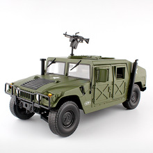 Alloy Diecast big Hummer Tactical Vehicle 1:18 Military Armo